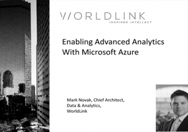 Enabling Advanced Analytics With Microsoft Azure